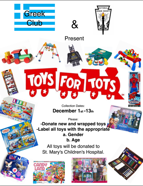 Toys For Tots Mission Statement : Wjps makes time for toys tots news