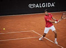 Novak Djokovic won the Men's Single French Open. Photo attribution to Roberto Faccenda on Flickr.