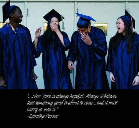 As seniors make their exits, they pass down advice to the incoming freshmen from their own experiences. Photo attribution to the WJPS Yearbook.