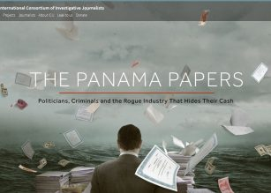The Panama Papers is the collection of corruption of world leaders. Photo attribution to The International Consortium of Investigative Journalists.
