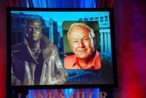 Arnold Palmer passed away at the age of 87. Photo attribution to USCG Press on Flickr.