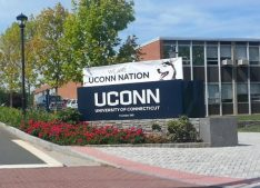 Two freshman football players from UCONN were arrested for having a weapon in a vehicle and underage possession of marijuana. Photo attribution to Kay Kim.