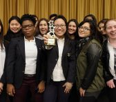 Baruch College hosted the 13th Annual High School Journalism Conference to expand knowledge on journalism tips. The Blazer was recognized as the Best Overall Online News Site. Picture attribution to Robert Sabo from New York Daily News.
