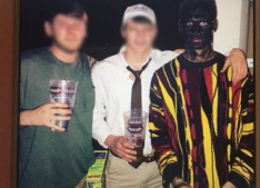 Photo of Charles Denton posted on his Instagram, which has been since deleted. Photo from College Candy.