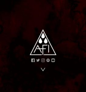 A Fire Inside, an American punk band, has released plans for its 10th album. Photo from AFI's website.